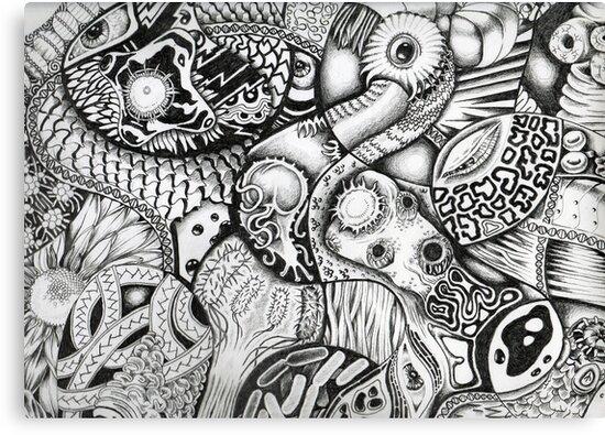 Parasites 001 by Sally Barnett