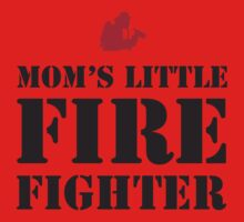 MOM'S LITTLE FIREFIGHTER Kids Clothes