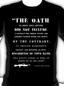 The Oath - white T-Shirt