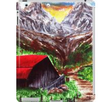 Country Road in Summertime iPad Case/Skin