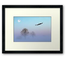 Winters Touch Framed Print