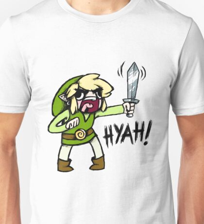 Toon Link- HYAH! Unisex T-Shirt