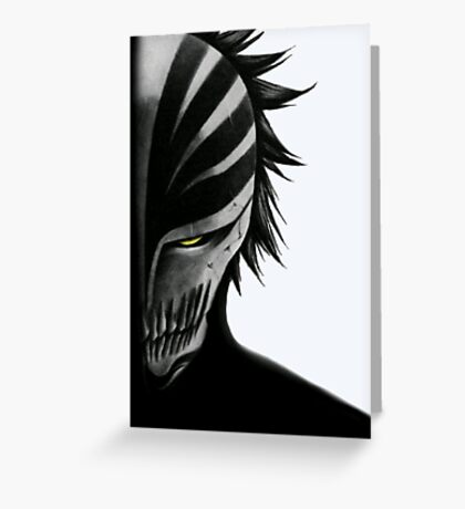Hollow Bleach Greeting Card