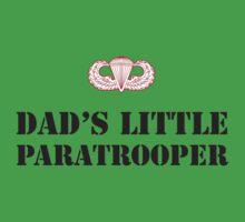 DAD'S LITTLE PARATROOPER One Piece - Short Sleeve