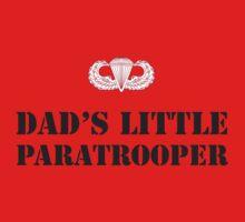 DAD'S LITTLE PARATROOPER Kids Clothes