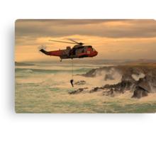 Royal Navy Rescue  Canvas Print