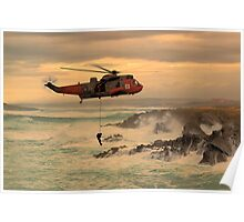 Royal Navy Rescue  Poster