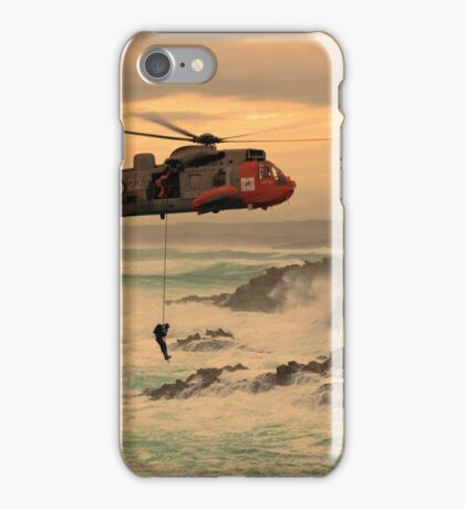 Royal Navy Rescue  iPhone Case/Skin