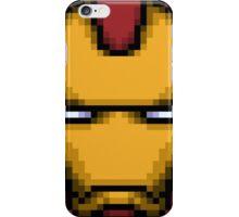 Iron Man Pixel Zoom iPhone Case/Skin