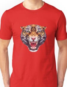 polygonal tiger illustration Unisex T-Shirt