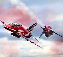 Reds Arrows Pass  by J Biggadike