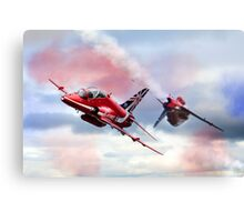 Reds Arrows Pass  Canvas Print