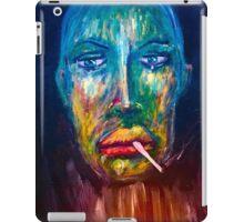 Port Dahlia Green man  iPad Case/Skin