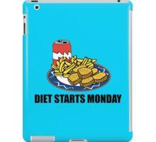 Diet Starts Monday iPad Case/Skin