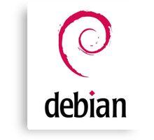 Debian LINUX Canvas Print
