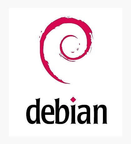 Debian LINUX Photographic Print