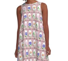 Tarot Card Pattern A-Line Dress