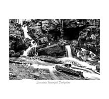 Lumsdale Valley Waterfall Photographic Print
