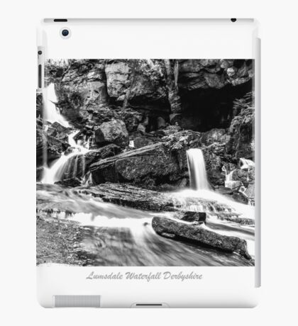 Lumsdale Valley Waterfall iPad Case/Skin