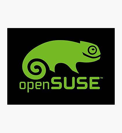 openSUSE LINUX Photographic Print
