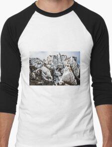 Rock Art Men's Baseball ¾ T-Shirt