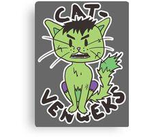 Hulk Cat Canvas Print