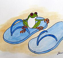 Frog is Ready for Summer by Jane Thuss