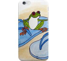 Frog is Ready for Summer iPhone Case/Skin