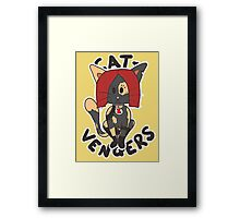 Cat Widow Framed Print