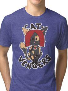 Cat Widow Tri-blend T-Shirt