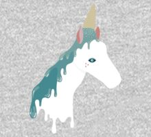 Horse by Day, Unicorn by Ice Cream Kids Tee