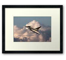 41 Typhoon  Framed Print
