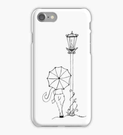 A Visit To The Lamppost iPhone Case/Skin