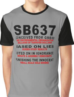 SB637 CONCEIVED FROM GREED Graphic T-Shirt