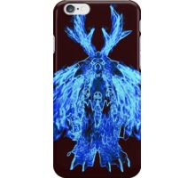 Flame Moonkin in blue iPhone Case/Skin