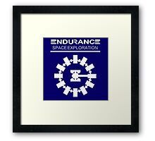 Inspired by Interstellar - Endurance Space Craft Framed Print