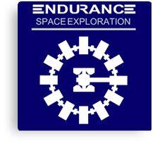 Inspired by Interstellar - Endurance Space Craft Canvas Print