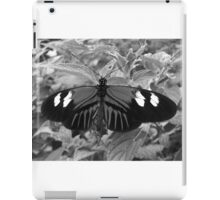 Butterfly in Black and White iPad Case/Skin