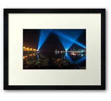 Articulated Intersect Framed Print