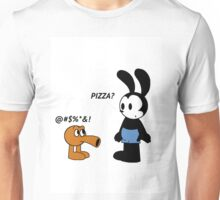 Oswald and Q*bert Unisex T-Shirt
