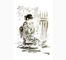 Japanese geisha large poster, tea ceremony art print Unisex T-Shirt