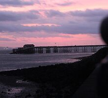 Mumbles Pier at Sunrise  by CecilyH
