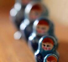 Russian Dolls Baboushka Babushka  by CecilyH