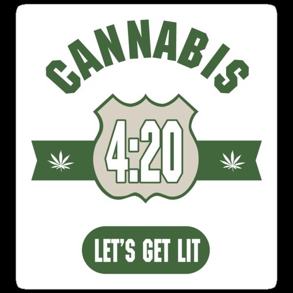 Cannabis 420 by MarijuanaTshirt