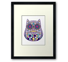 Pastel Owl Framed Print