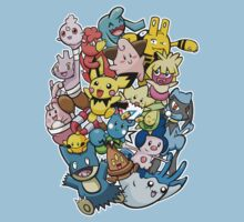 Baby Pokémaniacal Colour Kids Clothes