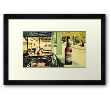 Coors Light Framed Print