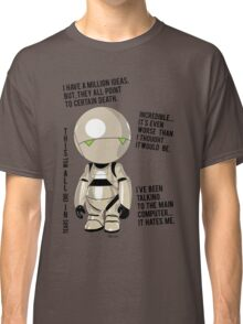 Marvin   the pessimist robot Classic T-Shirt