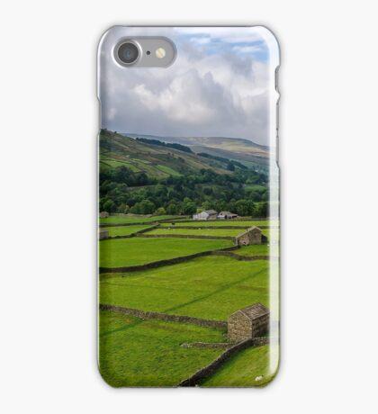 Swaledale Stone Barns iPhone Case/Skin