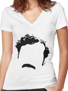 Narcos Women's Fitted V-Neck T-Shirt